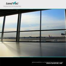 Landvac Китай Лоян Белый вакуум армированного стекла для межкомнатных дверей со стеклянными вставками