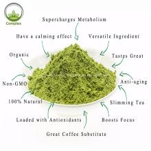 Grüntee-Pulver für Tee in Factory Bulk