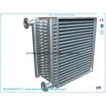 Intercambiador de calor de vapor a aire para secado de madera