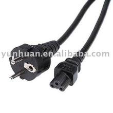 Ordinateur mikimouse cordon portable câble micky mouse trèfle UE UK USA C5 connecteur d'alimentation ca Fiche