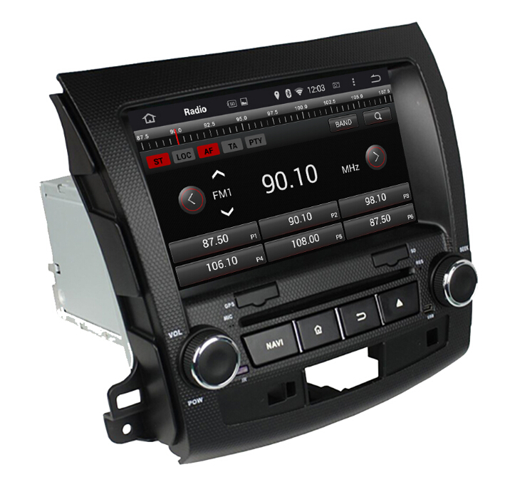 Car Audio Player For Mitsubishi Outlander