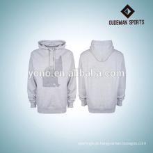 Em branco mens camisolas com padrões de tela de seda marcas DO OEM