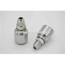 16711RW TOPA Chrome Plate one piece tube fittings