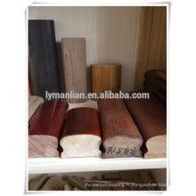 Main courante en chêne rouge sculpté colonnes en bois décoratif