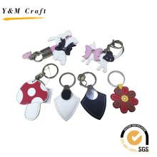 Presentes de aniversário Leather Keychains for Lady
