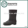 Schuhe für Männer PVC wasserdichte Stiefel Männer klar PVC Regen Stiefel A-909
