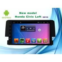 Sistema Android 9 polegadas Navegação GPS para Honda Civic Car DVD Player com Bluetooth / TV / WiFi