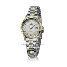 Günstige Schmucksache-Edelstahl-Paar-Armbanduhr