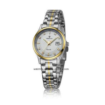 Cheap Jewellery Stainless Steel Couple Wrist Watch