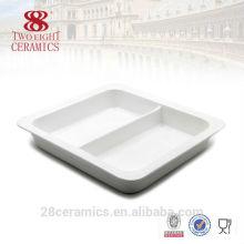 Articles en céramique hôtelier en gros, vaisselle usée, équipement de buffet