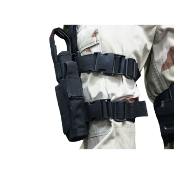 Airsoft taktische Tornado Universal Pistole Drop Leg Holster für linken militärische Oberschenkel Holster Pistole Holster schwarz