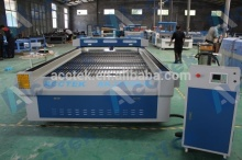 Acctek co2 laser cutting machine for double color board 1530 price (1500X3000 mm)
