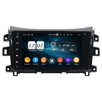 Klyde automotive head unit voor Navara 2016 Links