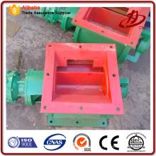 La válvula rotatoria CNP se conecta con la tolva de cenizas