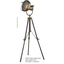 High Quality Light Brass Tripod Floor Lamp (F704B)