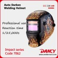 Factory Price Trade auto darkening welding helmet code.7062