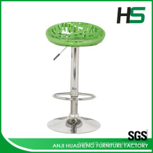 Manufacturer modern style salon plastic bar chair