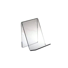 Medium Clear Acrylic Book Easels Premium Thick