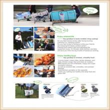 Solar-Ofen zum Grillen