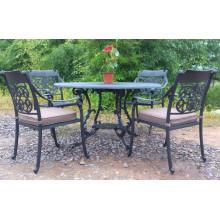 Fonte d'Aluminium à manger ensemble jardin Patio extérieur meubles