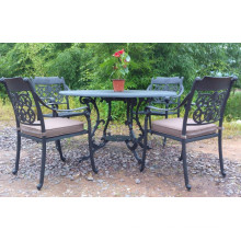 Cast Aluminium Dining Set Garden Outdoor Patio Furniture