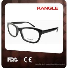 2017 derniers cadres d'acétate conception cadre optique de lunettes
