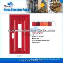 Aufzug Halbautomatische Tür für kleine Personenaufzüge