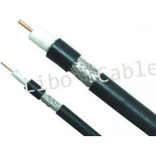 75 ohm RG500 Coaxial Cable For CCTV System, Braiding CATV C