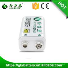 Bateria Geilienergy Ni-mh 6f22 9V 200mah Rechargeble de Guangzhou Fabricante