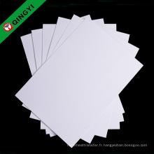 Papier de haute qualité de QingYi pour la sublimation avec la bonne qualité