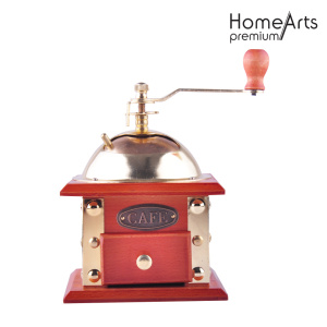 Red Manual Ceramic Core Coffee Mill