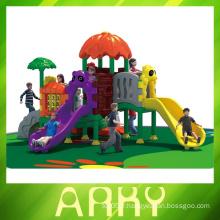 Aire de jeux en plastique de jardin, toboggan de jardin extérieur, toboggan de jardin