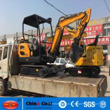 Escavadeira pequena da máquina escavadora da esteira rolante de JH22 2,2 toneladas mini
