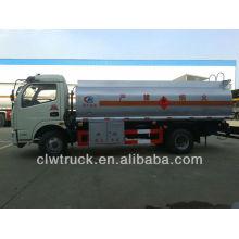 Venda quente Dongfeng 5-7m3 caminhão móvel do óleo / caminhão de tanque de combustível em Zimbabwe