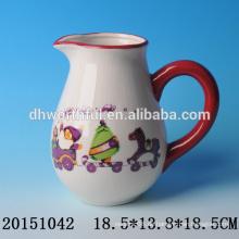 Keramische dekorative Wasserkrüge mit Weihnachtsmann für Weihnachtsfeier