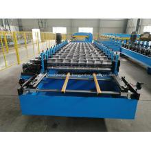 Máquina perfiladora de láminas de techo IBR