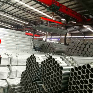 Pre Galvanized Welded Thin Wall Steel Pipe