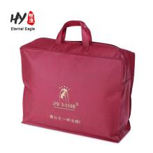 Nuevos productos gruesos bolso de cremallera no tejido hecho en China