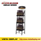 Wine display rack,metal display stand