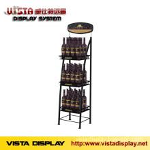 Wine display rack,metal display stand