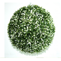 Green leaf wholesale artificial plastic grass ball