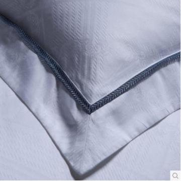 5 Sterne Hotel Satin Bett Bettwäsche 100 % Baumwolle weiß