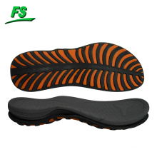 high quality running outsole, non marking outsole,shoes outsole combined with tpr/rb and md material