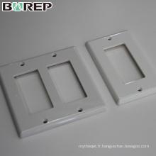 Chine fournisseur BAREP personnalisé GFCI interrupteur plaque de couverture