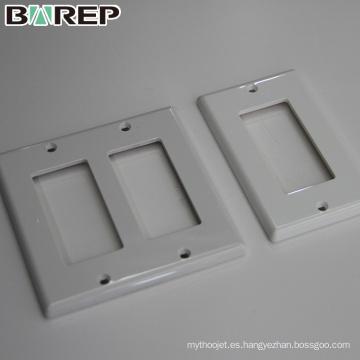 Proveedor de China BAREP personalizado placa de cubierta interruptor GFCI