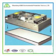 serie industrial de la unidad de filtro de ventilador H14, filtro HEPA FFU con intercambio / control directo