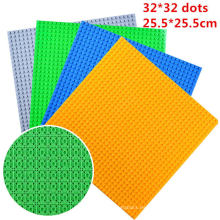 Placa de base del bloque de creación de ABS 32 * 32 Dots para ensamblar