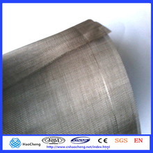 Écran de treillis métallique de nickel de maille de 300 mailles de treillis de nickel résistant à la chaleur