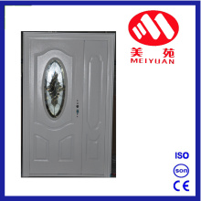 Hot Jordan Steel Entry Tür Haupt Design mit Glas
