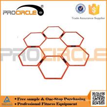Anillo de agilidad de aro plano hexagonal competitivo